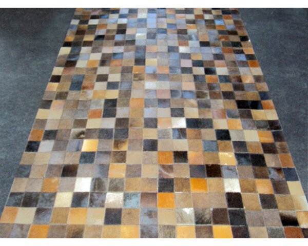 Patchwork Baltic II Brown Area Rug by Modern Rugs