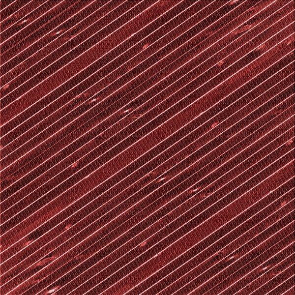 Striped Wool Maroon Area Rug