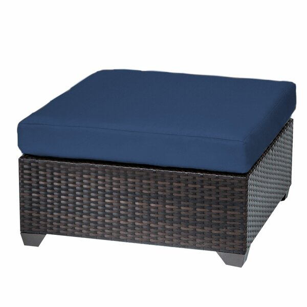 Fernando Outdoor Ottoman with Cushion by Sol 72 Outdoor