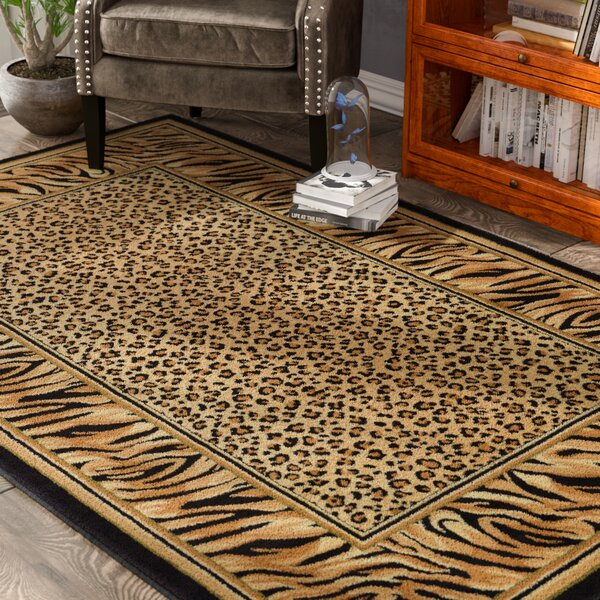 Jaina Light Brown Area Rug by Bloomsbury Market