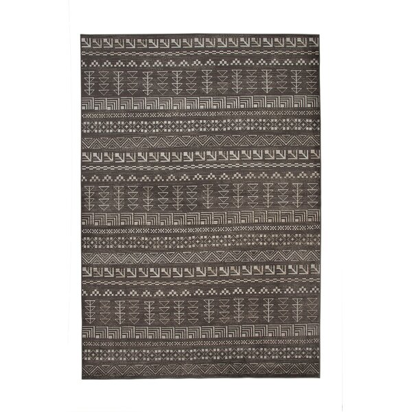 Addie Brown/Ivory Area Rug by Foundry Select
