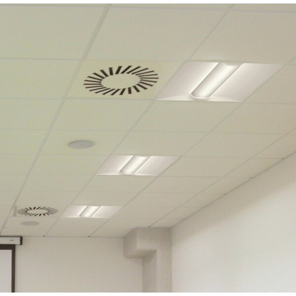 BLT Series LED Low Profile Recessed Troffer Semi Flush Mount by Lithonia Lighting
