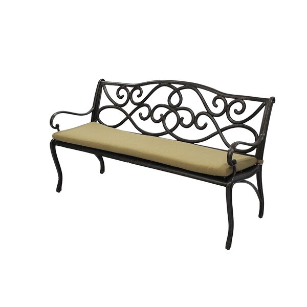 Indoor/Outdoor Sunbrella Bench Cushion by Darby Home Co