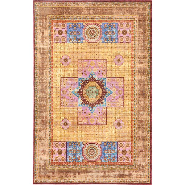 Bradford Cream Area Rug by Mistana