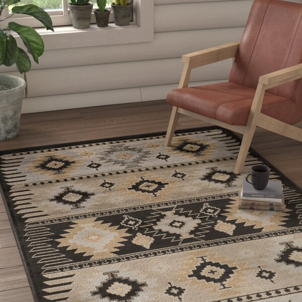 Belvedere Barley/Safari Tan Area Rug by Loon Peak