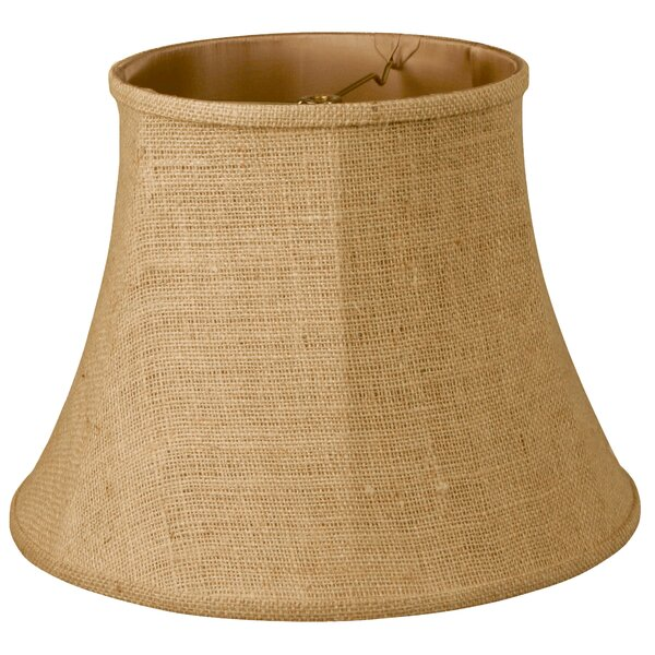 14 Burlap Bell Lamp Shade by Bay Isle Home