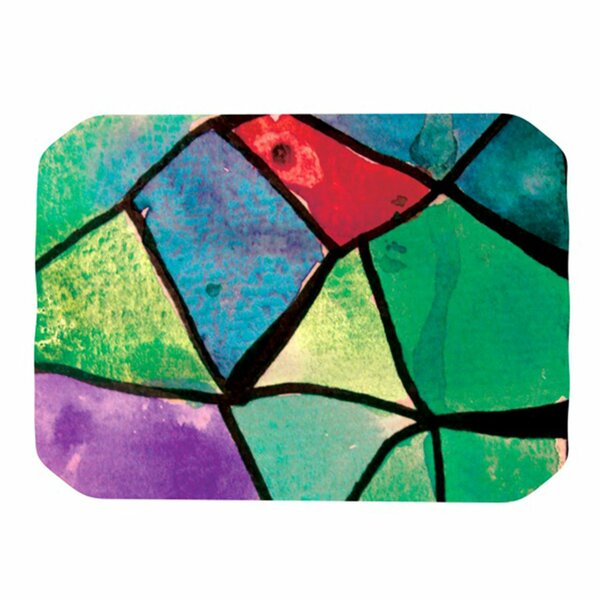Stain Glass 1 Placemat by KESS InHouse