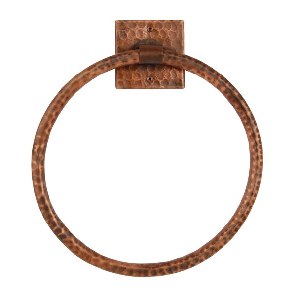 Wall Mounted Towel Ring by Premier Copper Products