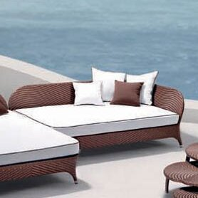 Flora Daybed with Cushions by 100 Essentials