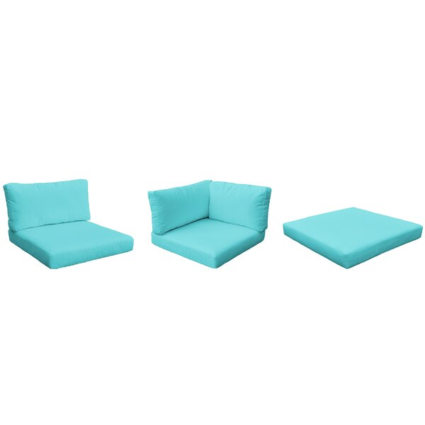 Monterey Outdoor 23 Piece Lounge Chair Cushion Set by TK Classics