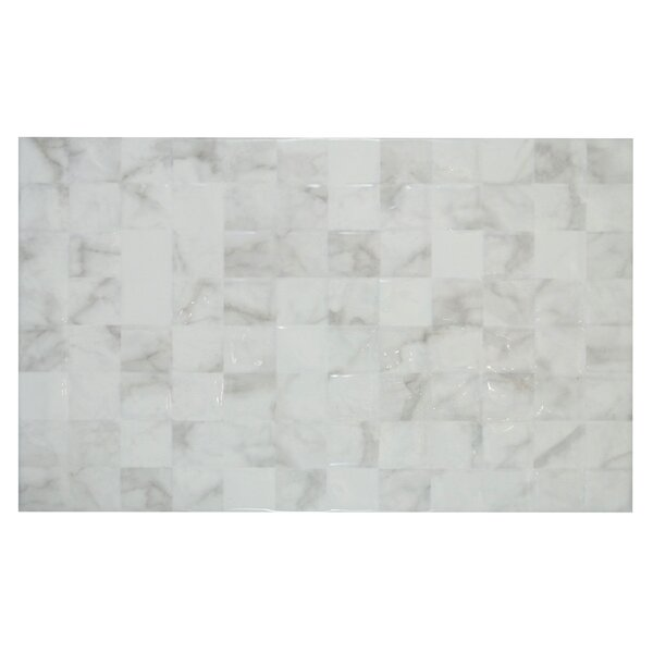 10 x 16 Wall Tile in Glossy Carrara White by Mulia Tile