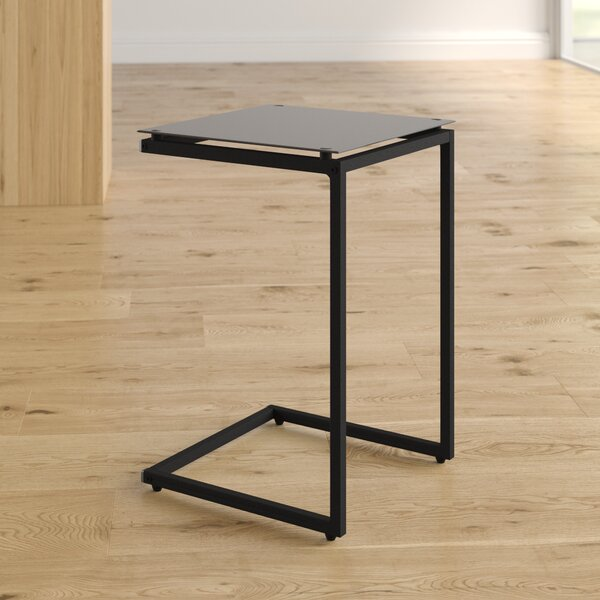 Bonetti C Shaped End Table by Wrought Studio