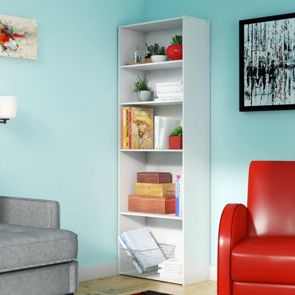 Hinshaw 5-Shelf Standard Bookcase by Latitude Run