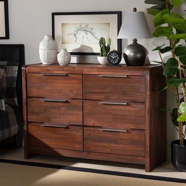Daventry 6 Drawer Double Dresser by Foundry Select