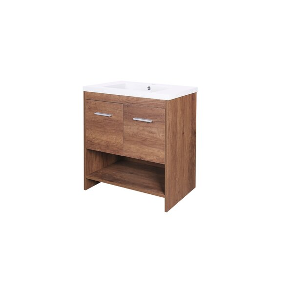 Kirby 30 Single Bathroom Vanity Set by Union Rustic