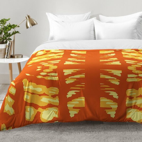 Pumpkin Latte Comforter Set