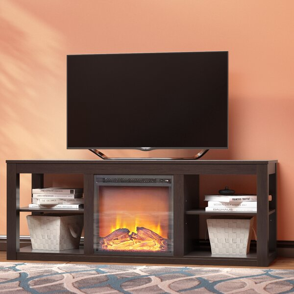 Rickard 59 TV Stand with Fireplace by Zipcode Design