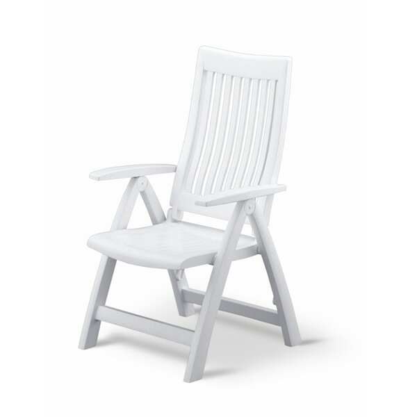 Argo Folding Patio Dining Chair by Andover Mills