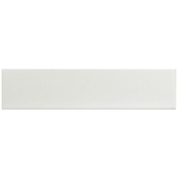Retro 1.75 x 7.63 Porcelain Field Tile in Matte White by EliteTile