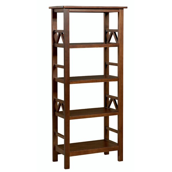 Belcara Wooden Etagere Bookcase By Winston Porter