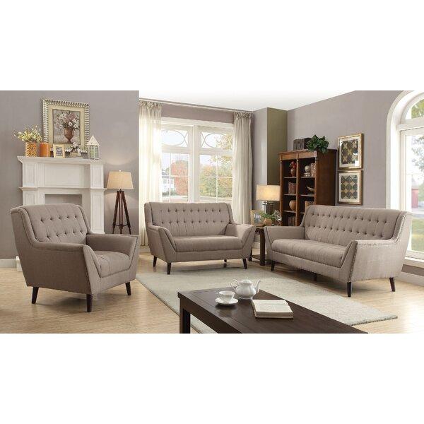 Kenya 3 Piece Living Room Set by Corrigan Studio