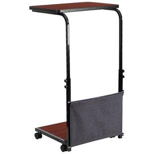 Castano Height Adjustable Wheels Standing Desk