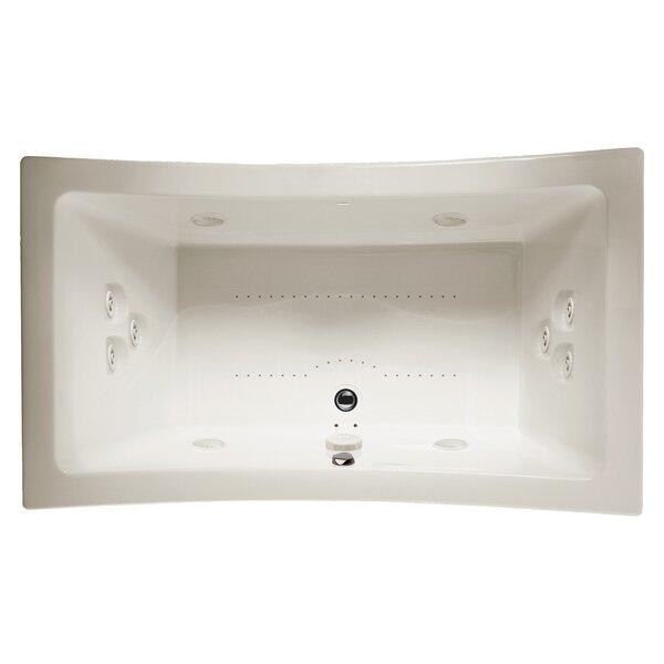 Allusion 72 x 42 Drop In Salon Bathtub by Jacuzzi®
