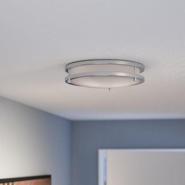 Hinson 2-Light Flush Mount by Zipcode Design