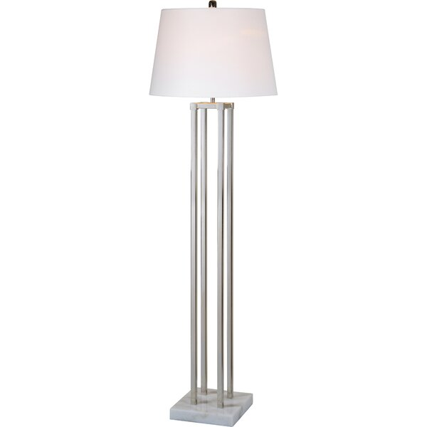 Levesque 61.5 Column Floor Lamp by Latitude Run
