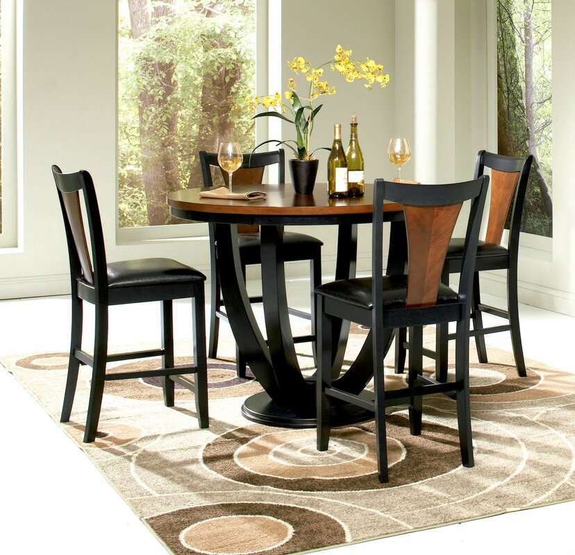 Delicieux Mayer 5 Piece Counter Height Dining Set