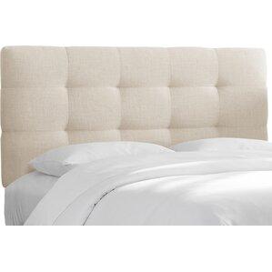 Tanner Linen Upholstered Headboard by Skyline Furniture