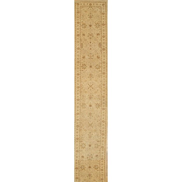 Ferahan Hand-Knotted Wool Ivory Area Rug by Pasargad NY
