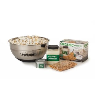 Whirley-Pop Popcorn and Bowl Gift Set by Wabash Valley Farms