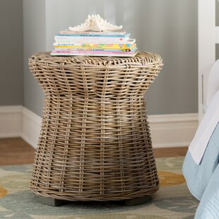 Rivera Rattan Side Table By Birch Lane™
