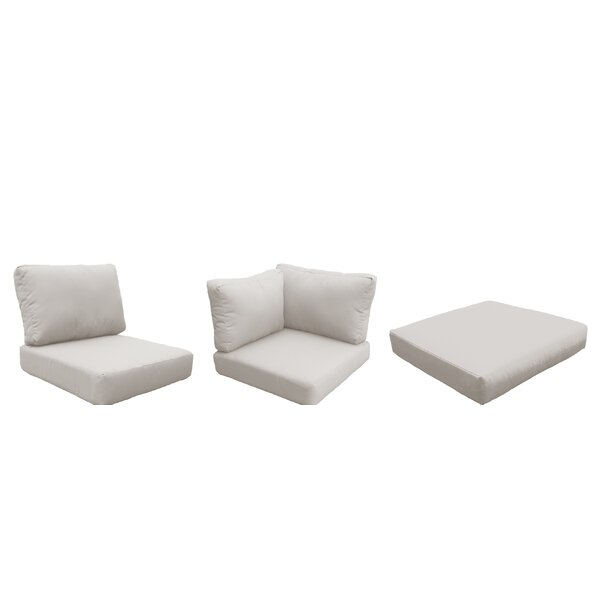 Fairfield 14 Piece Indoor/Outdoor High Back Cushion Cover Set by Sol 72 Outdoor Sol 72 Outdoor
