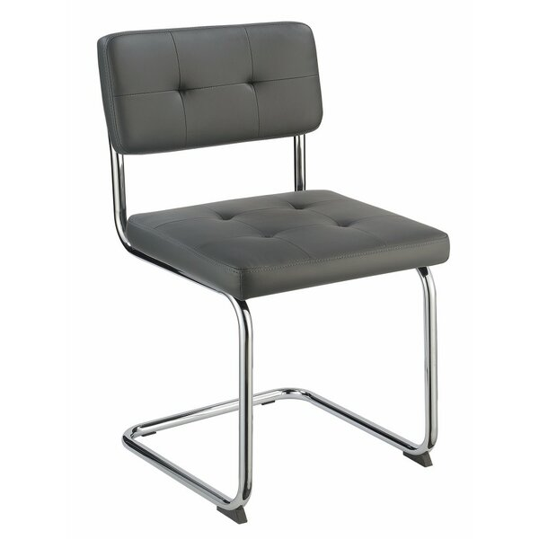 Azocar Cantilever Base Upholstered Dining Chair (Set of 4) by Orren Ellis