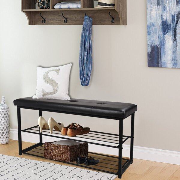 8 Pair Shoe Storage Bench by Ebern Designs