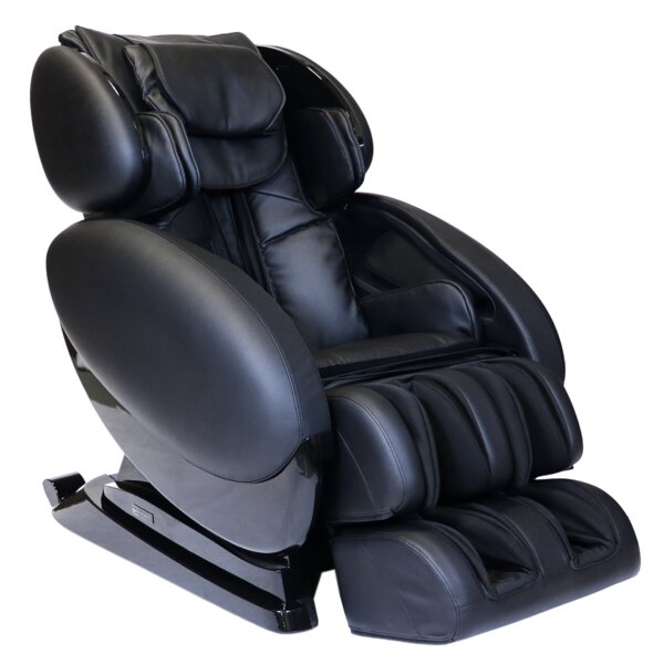 Infinity IT-8500 Reclining Adjustable Width Heated Massage Chair With Ottoman By Infinity