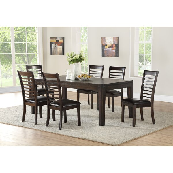 Lapinski 7 Piece Extendable Dining Set by Winston Porter