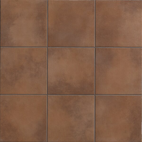 Poetic License 18 x 18 Porcelain Field Tile in Sienna by PIXL