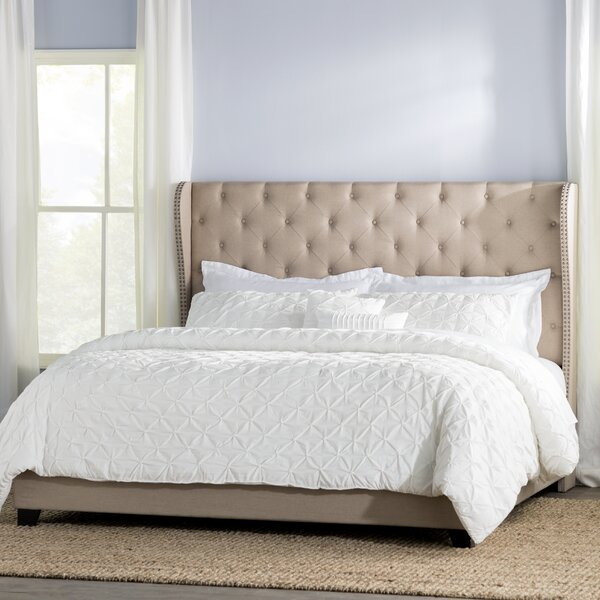 StowtheWold Upholstered Standard Bed by Three Posts