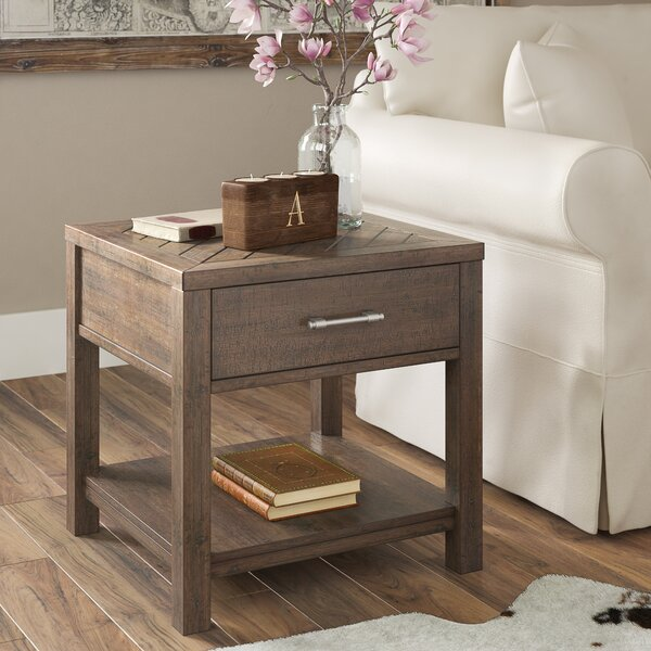 Ismay End Table By Three Posts