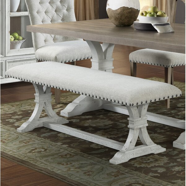 Schutz Upholstered Bench by Gracie Oaks