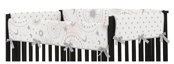 Celestial Crib Rail Guard Cover by Sweet Jojo Designs
