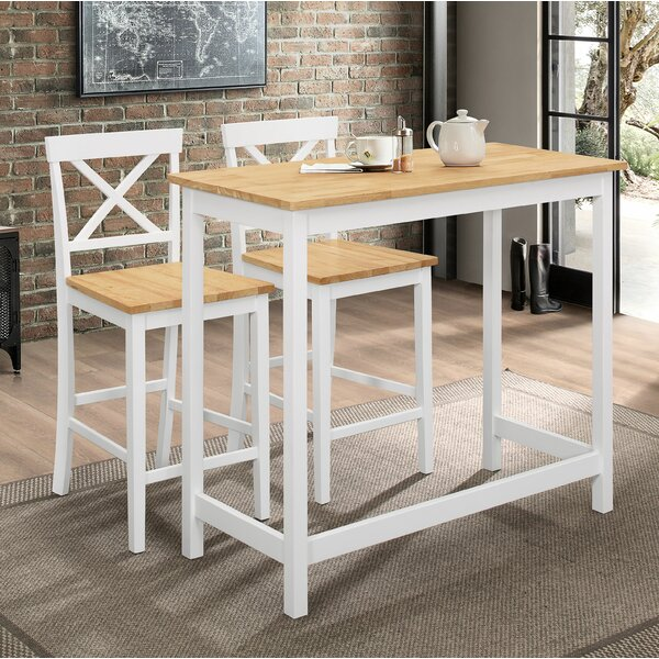Stcyr 3 Piece Pub Table Set by Winston Porter