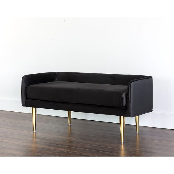 Daughtry Upholstered Bench by Everly Quinn