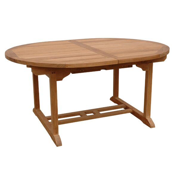 Farnam Solid Wood Dining Table By Rosecliff Heights by Rosecliff Heights Modern