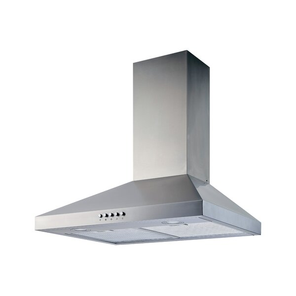 30 400 CFM Convertible Wall Mount Range Hood by Wi