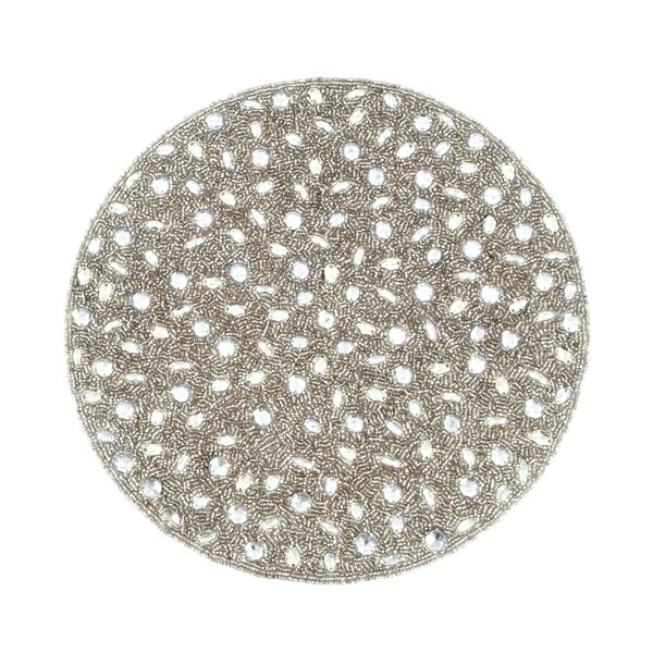 Anika Beaded Design Placemat (Set of 4) by Winston Porter