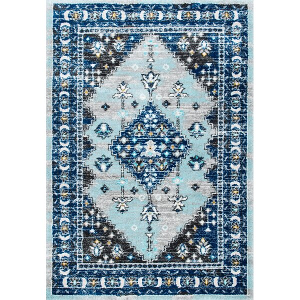 Alejo Blue Area Rug by Brayden Studio